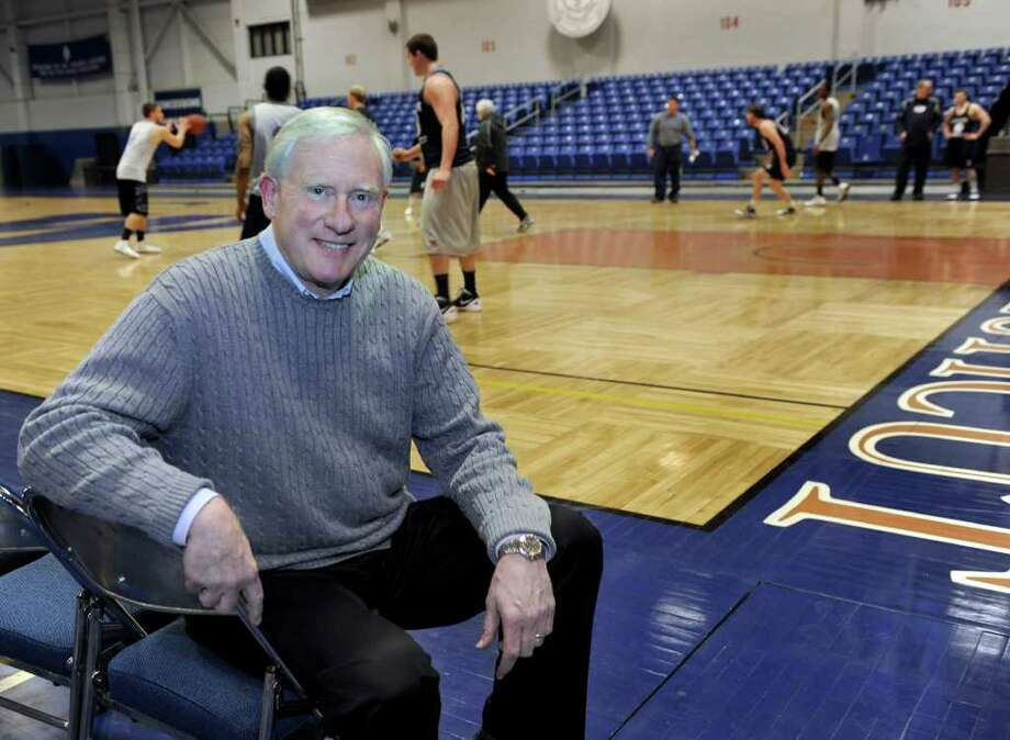 James Schmotter, president of Western Connecticut State University in Danbury, just became the chairman of the NCAA Division lll Presidents Council.  Photo taken Monday, January 16, 2012 Photo: Carol Kaliff / The News-Times