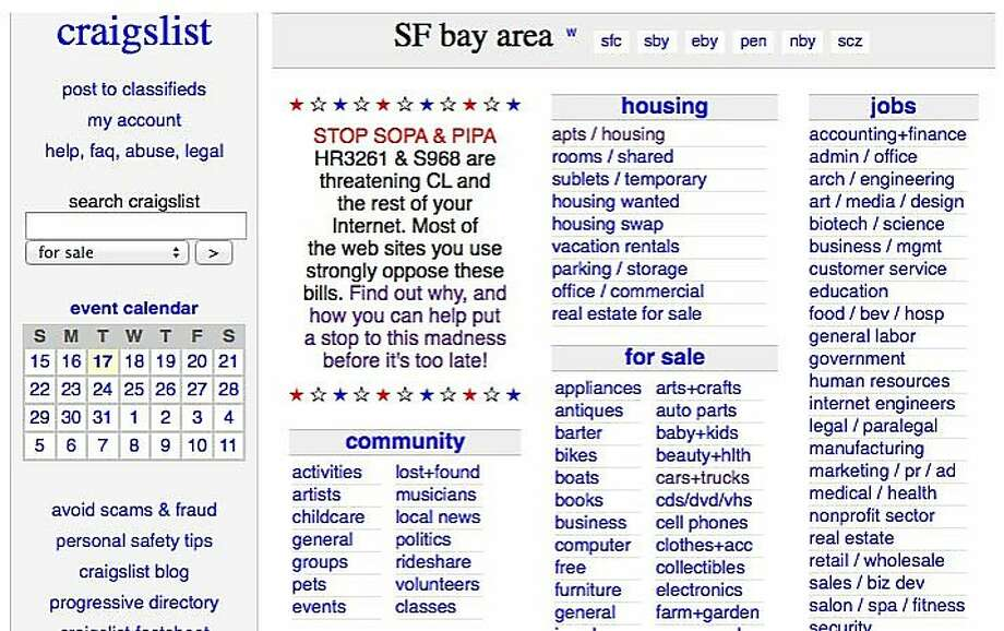 study craigslist flags less than 50 of scam rental listings sfgate. Black Bedroom Furniture Sets. Home Design Ideas