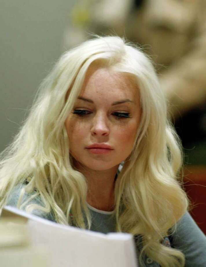 Court appearances, family trouble and Twitter feuds. It was just a normal year for Lindsay Lohan . Photo: Gary Friedman / POOL Los angeles Times