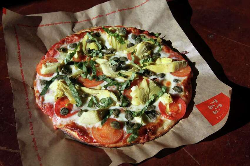 Vegetarian-Friendly, Lacto, Pizza, Fast food, Take-out, Non-veg - 1160 N loop 1604 W Ste 107 zpizza.com