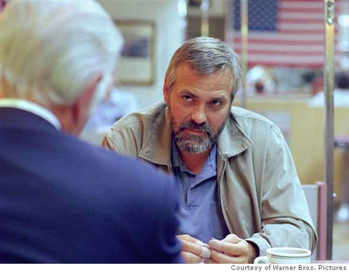 GEORGE CLOONEY stars in Warner Bros. Pictures� political thriller �Syriana,� also starring Matt Damon and Jeffrey Wright.