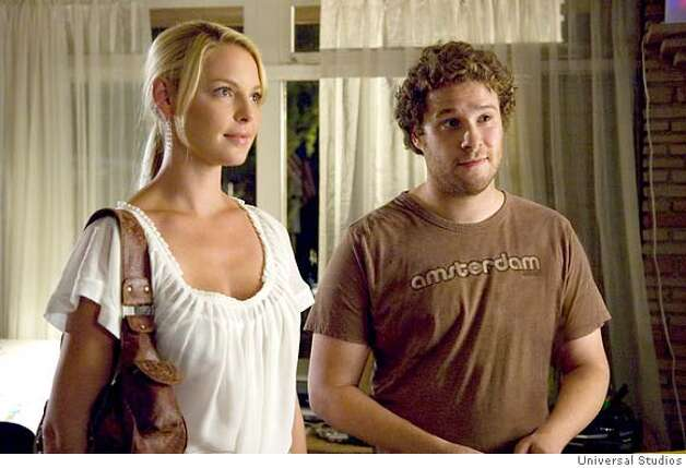 "Alison Scott (KATHERINE HEIGL) and Ben Stone (SETH ROGEN) in ""Knocked Up."" Photo: Suzanne Hanover (c) 2007 Universal Studios Photo: Suzanne Hanover"