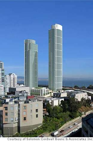 PLACE29_PH4.JPG  Image of the Rincon Hill complex  Photo courtesy Solomon Cordwell Buenz & Associates Inc.