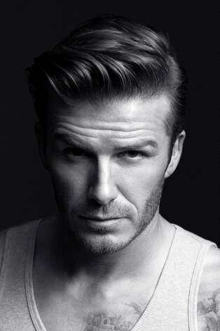 David Beckham up close. The soccer megastar will debut his collection of briefs, boxer shorts, T-shirts, tank tops and more in a 30-second ad during the second quarter of the Super Bowl Feb. 5, reports H&M, a chain of stores known for its on-trend, fast-fashion. Photo: Courtesy H&M, Photographer: Alasdair McLellan, Stylist: Michael Philouze