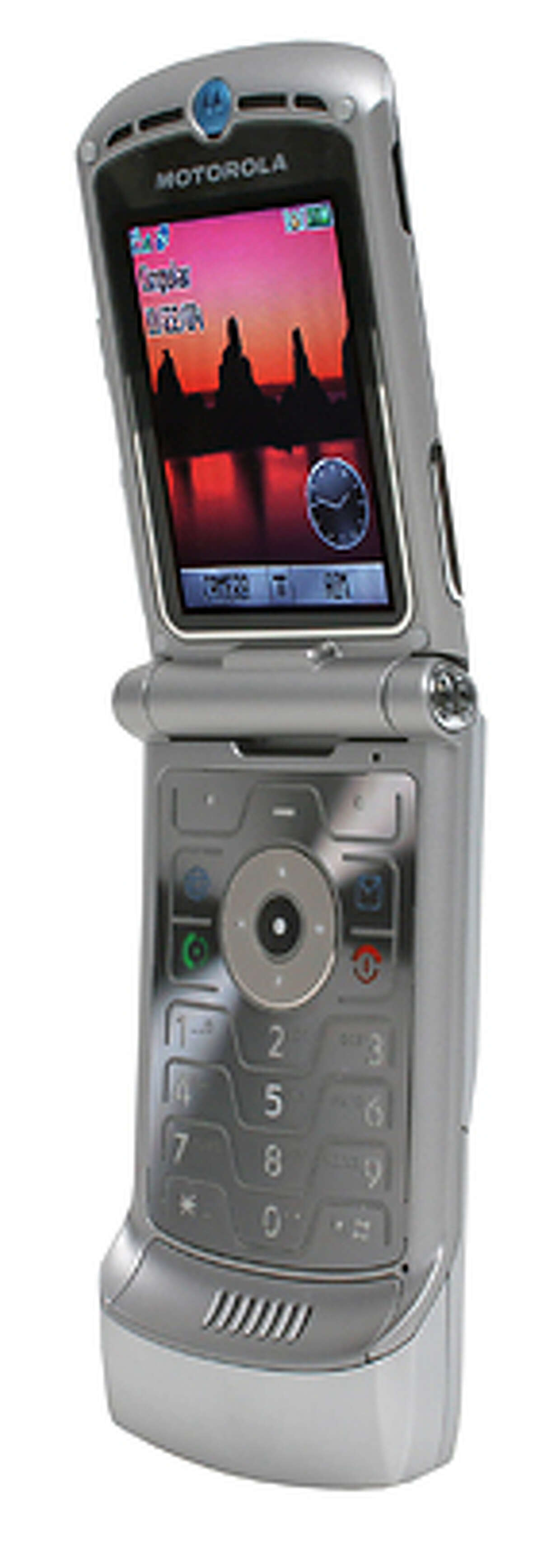 Motorola Razr V3 Credit: CNET images for Chronicle gift guide