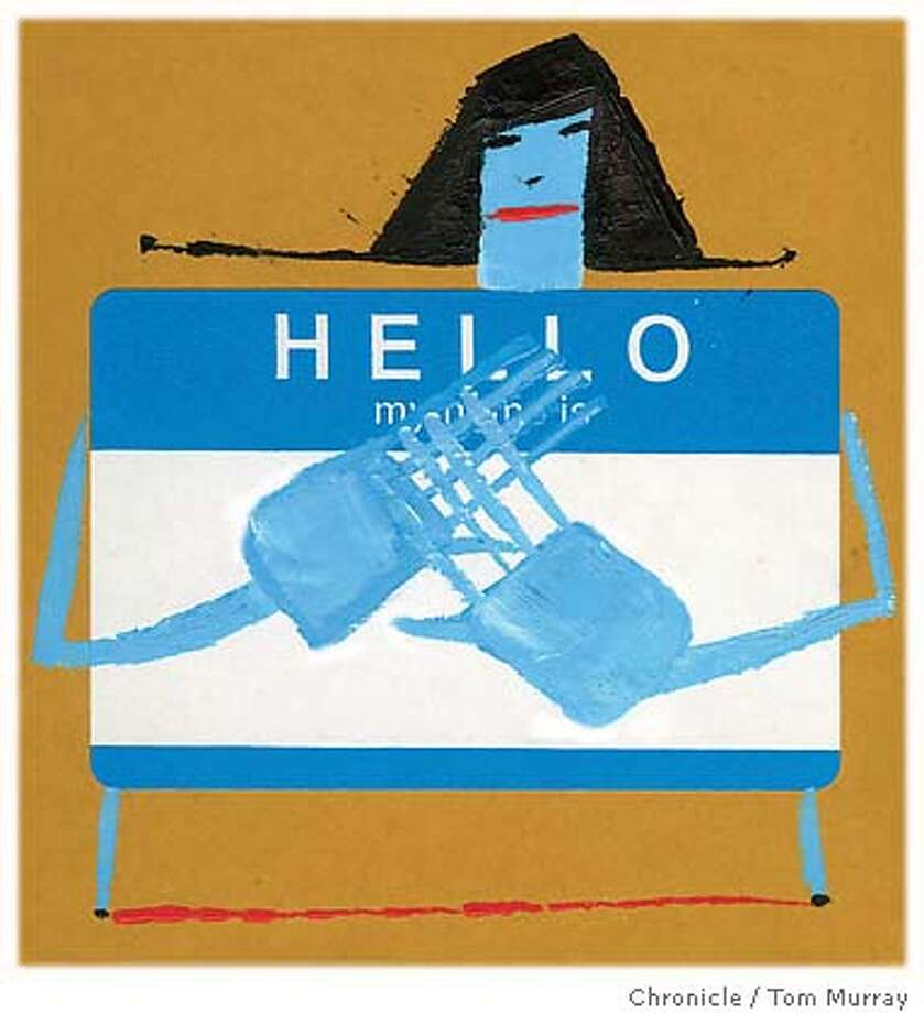 The Name Game. Chronicle illustration by Tom Murray