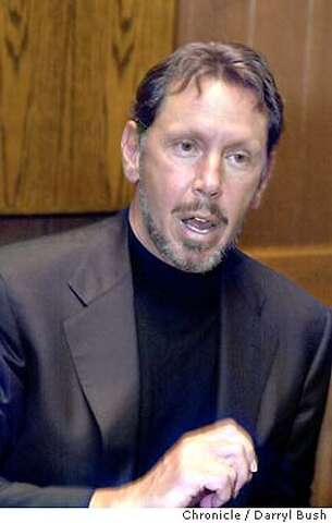 On the Record: Larry Ellison - SFGate