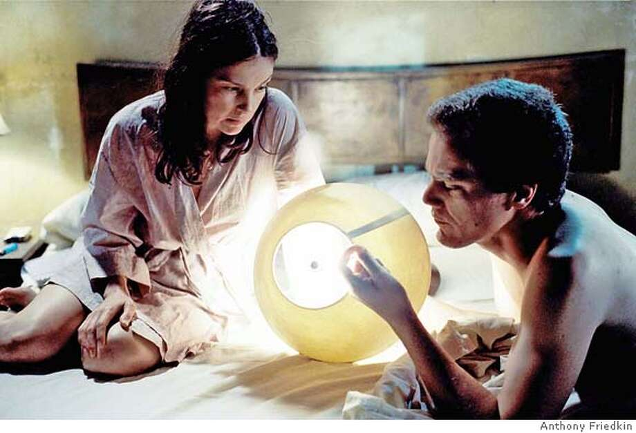 "Agnes White (Ashley Judd) and Peter Evans (Michael Shannon) in William Friedkin's film, ""Bug."" Photo credit: Anthony Friedkin Photo: Anthony Friedkin"