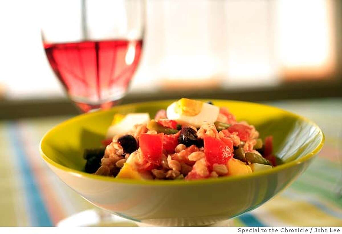 PAIRINGS25_03_JOHNLEE.JPG Farro Nicoise Salad. By JOHN LEE/SPECIAL TO THE CHRONICLE