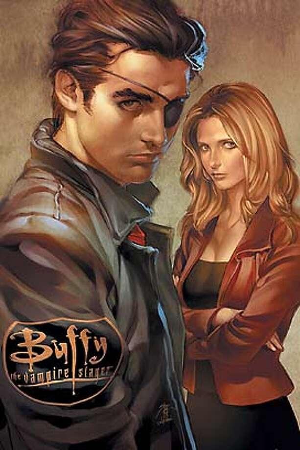I will download the Buffy Season 8 #2 cover art Photo: Ho