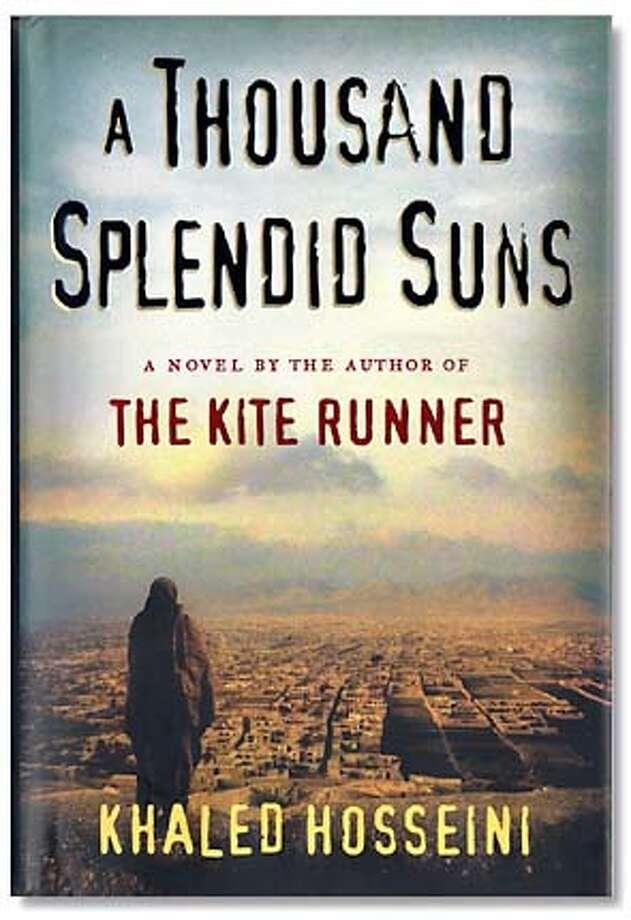 "Cover, ""A Thousand Spendid Suns"" Photo: Khaled Hosseini"