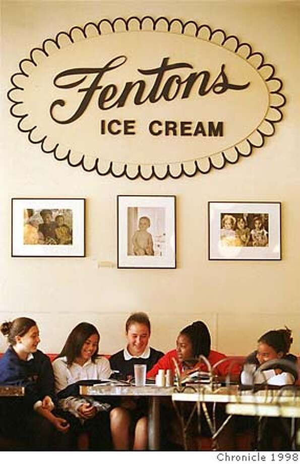 Fentons Creamery, an Oakland favorite since 1922, now has a second location at the new Nut Tree complex in Vacaville. Chronicle Photo, 1998