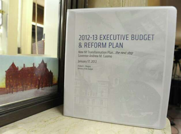 New York State Governor Andrew Cuomo's 2012-13 Executive Budget & Reform Plan at the Capitol on Tuesday, Jan 17, 2012 in Albany, N.Y.   (Lori Van Buren / Times Union) Photo: Lori Van Buren