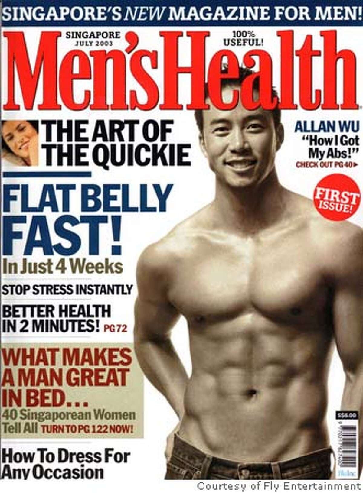 Photo of Allan Wu, a Chinese American star in Singapore. Credit: Courtesy of Fly Entertainment