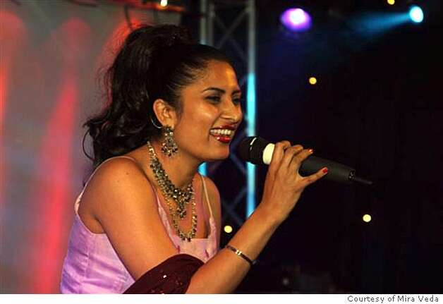 Mira Veda, Indian singer from San Francisco making waves in the United Kingdom. Courtesy of Mira Veda Ran on: 11-27-2005  Chinese American Allan Wu is a star in Singapore, appearing in two television dramas and scores of movies, TV shows and commercials across Asia. Wu, a native Californian, is a graduate of UC Berkeley and worked for Chiron in Emeryville before going overseas. Photo: Courtesy Of Mira Veda