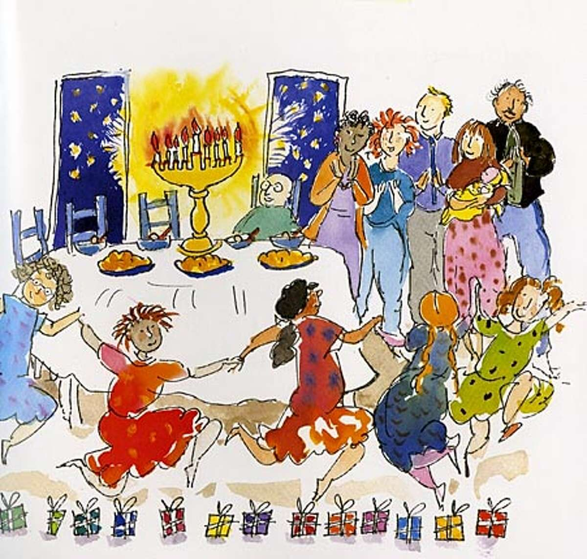 """From """"The Eight Nights of Chanukah"""""""