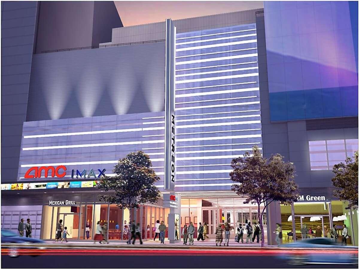 Artist rendering of Metreon remodel for Target store.
