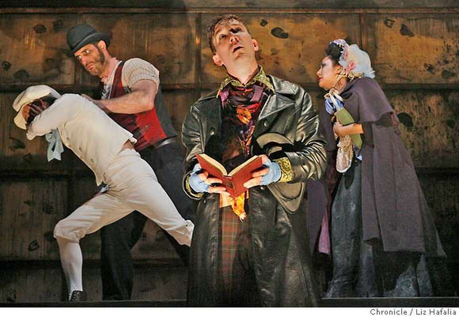 oliver twist melodrama But make no mistake: this is neil bartlett's oliver twist  the stylized gloom of  victorian melodrama sometimes an ethereal beam from above.