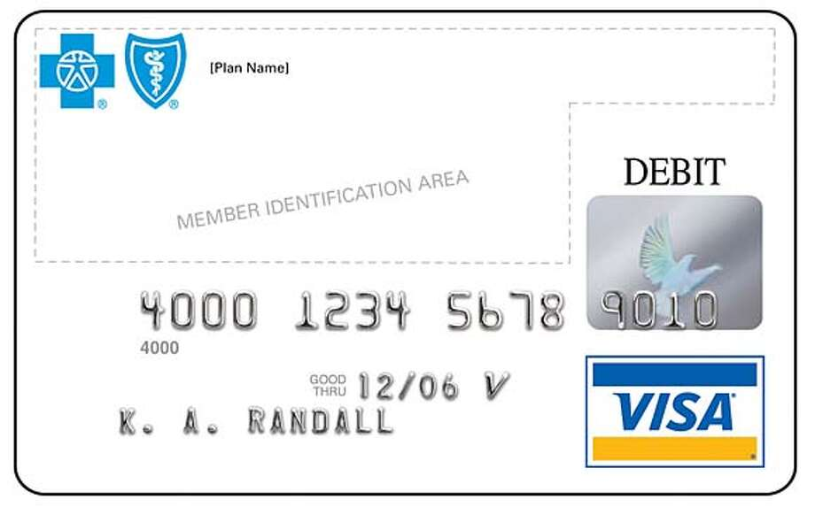 Health Debit Card Offered Visa Blue Cross And Blue Shield Will