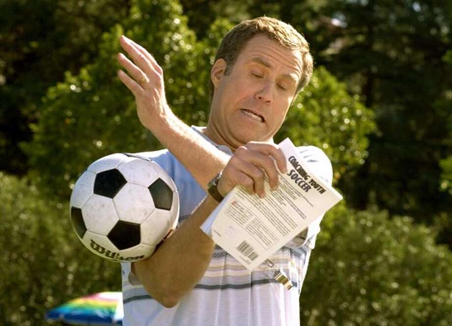 Will Ferrell plays soccer coach in Universal Pictures film Kicking and Screaming Photo: HO