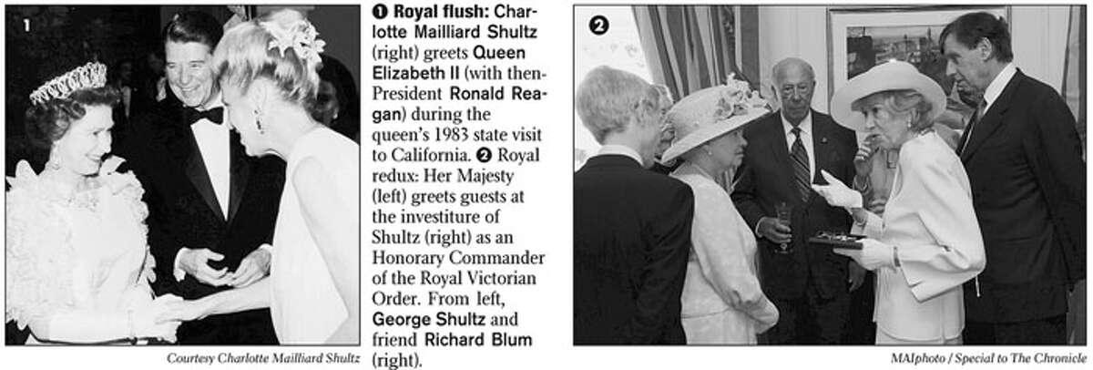Royal flush. Photo courtesy of Charlotte Mailliard Shultz
