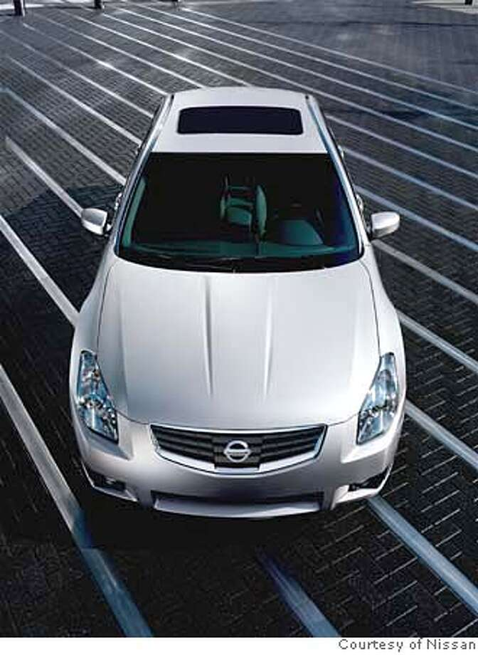 The new 2007 Nissan Maxima -- The enhancements to the 2007 Maxima include a redesigned exterior with a new front grille, hood, headlights; a refined premium interior with a redesigned instrument panel with new Fine Vision gauge display; intuitive next generation technology features including Intelligent Key; and the adoption of standard, performance-based Continuously Variable Transmission (CVT) on all models. The new Maxima continues to offer a standard 3.5-liter DOHC 24-valve V6 engine. The 2007 Maxima will be available in June.  Ran on: 05-04-2007  The 2007 Nissan Maxima, which will be available in June, features sharply cut-off edges and trunk lid on the outside, and lots of aluminum and black plastic on the inside.  Ran on: 05-04-2007 Ran on: 05-04-2007 Ran on: 05-04-2007 Photo: Brian Garland