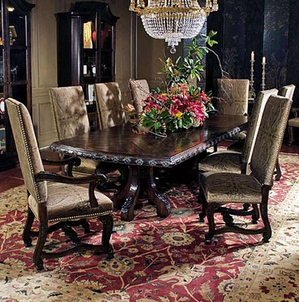 Centuryu0027s Marisol Line Features A Dining Table Thatu0027s Magnificent In Both  Size And Workmanship. Its