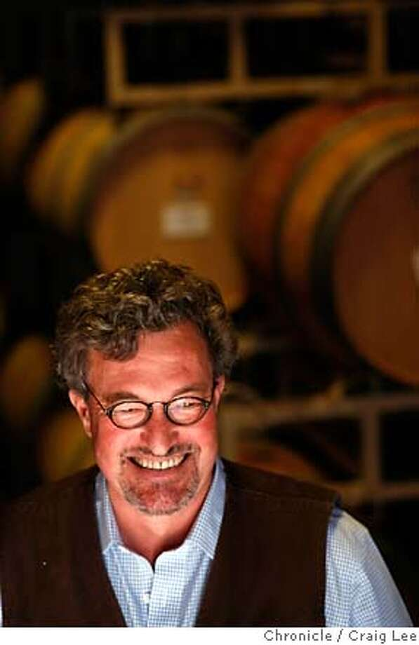 CONSULTANTS04_100_cl.JPG  Story on wine consultants. This is Kerry Damskey. He was photographed at Dutcher Crossing Winery, one of the places he consults. Event on 4/23/07 in Healdsburg. photo by Craig Lee / The Chronicle MANDATORY CREDIT FOR PHOTOG AND SF CHRONICLE/NO SALES-MAGS OUT Photo: Photo By Craig Lee