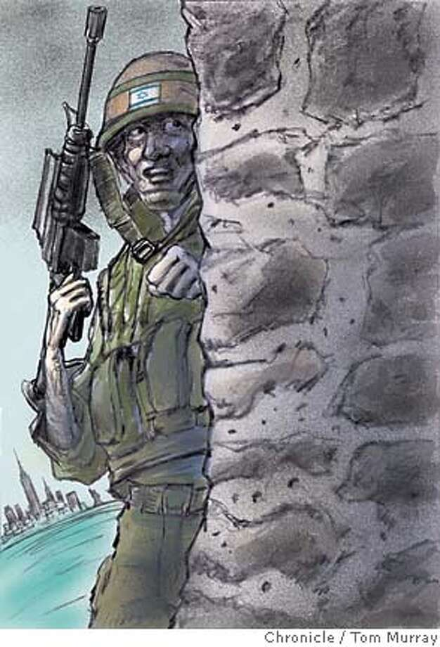 israeli soldier, war, mideast conflict Photo: Tom Murray