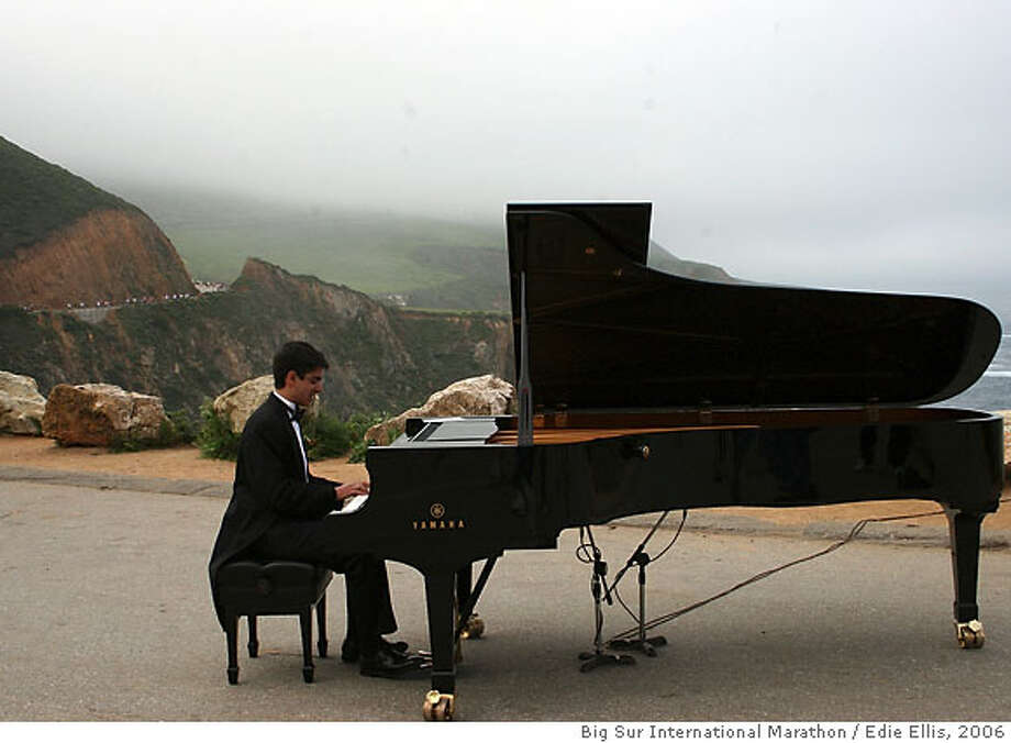 Musical majestic marathon sfgate for Big grand piano