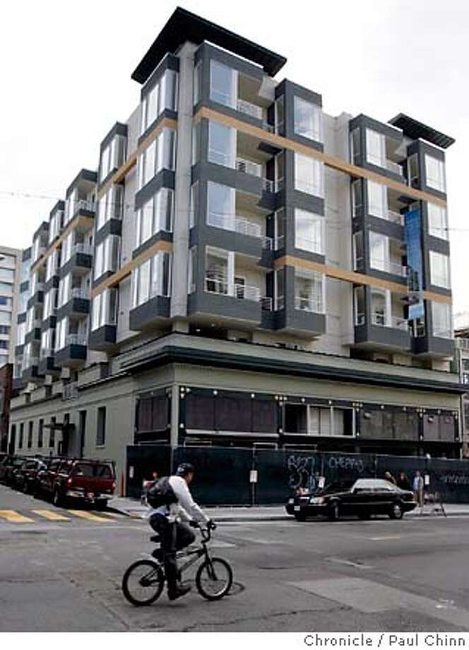 The Frank Norris Place condominiums for active adults 55 and over in San Francisco, Calif. on Friday, April 20, 2007.  PAUL CHINN/The Chronicle MANDATORY CREDIT FOR PHOTOGRAPHER AND S.F. CHRONICLE/NO SALES - MAGS OUT Photo: PAUL CHINN