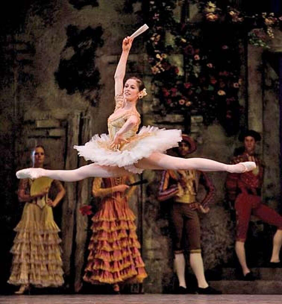 """Vanessa Zahorian portrays Kitri in """"Don Quixote"""" at the San Francisco Ballet"""