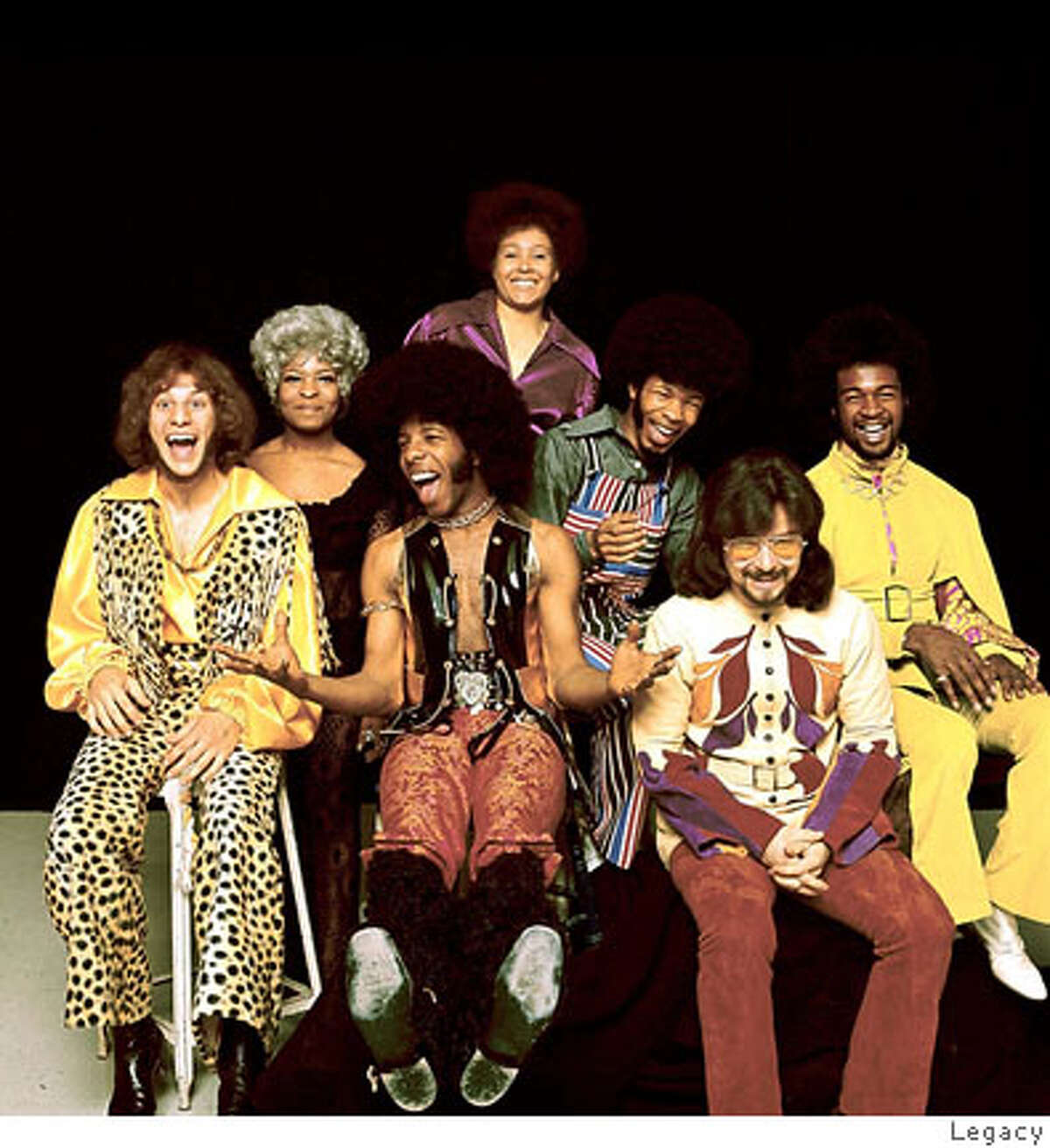 Sly and the Family Stone. Credit: Legacy