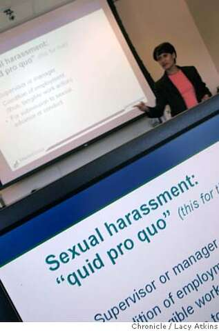 The cost of compliance / Sexual harassment training becomes