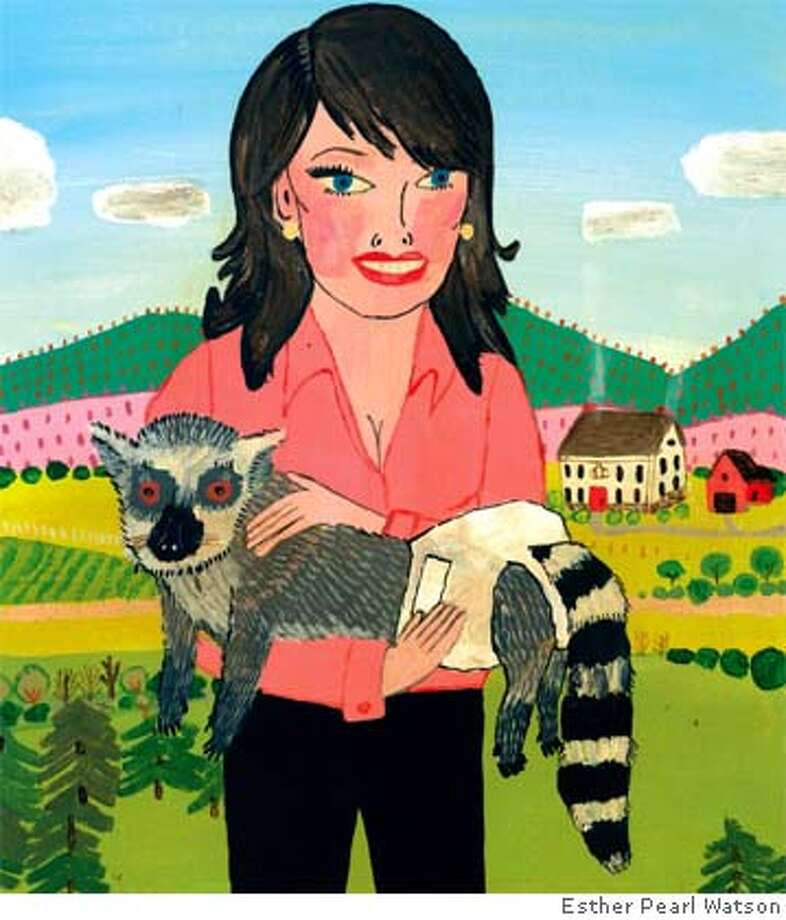 Exotic pets. Illustration by Esther Pearl Watson