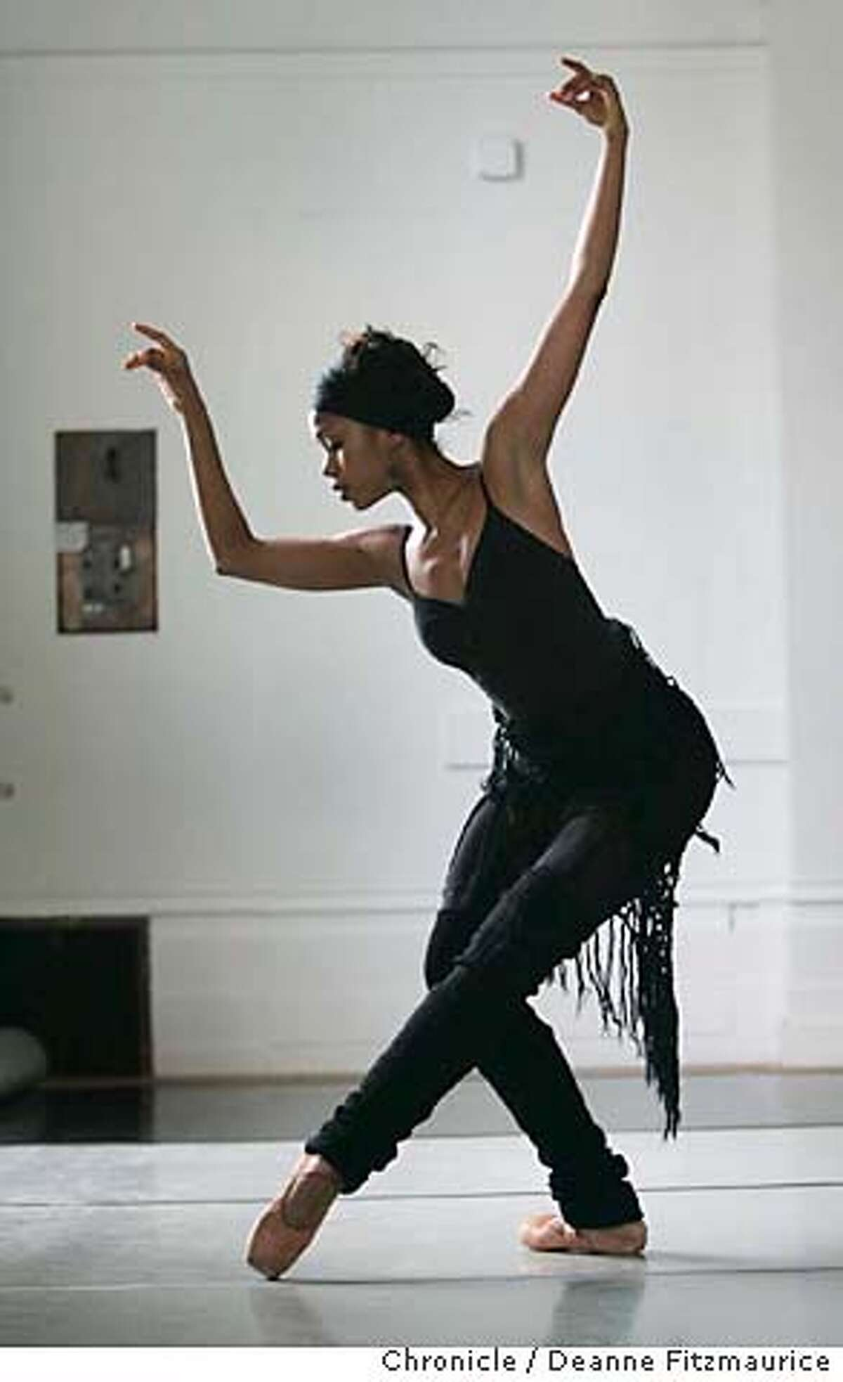 lines_015_df.JPG Aesha Ash is a dancer with Alonzo King Lines Ballet. Deanne Fitzmaurice / San Francisco Chronicle