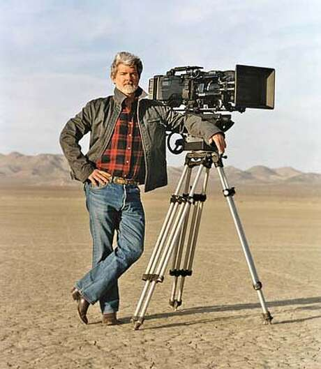 George Lucas, recipient of the one-time-only Irving M. Levin Award, to be presented at the 50th San Francisco International Film Festival in 2007. Photo: Sfff