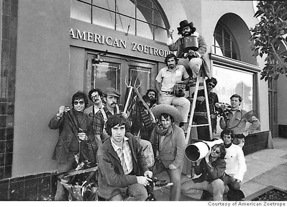 """Francis Ford Coppola (top) and the renowned American Zoetrope staff in Gary Leva's """"Fog City Mavericks,"""" premiering at the 50th San Francisco International Film Festival in 2007. Photo: Photo Courtesy Of American Zoetr"""