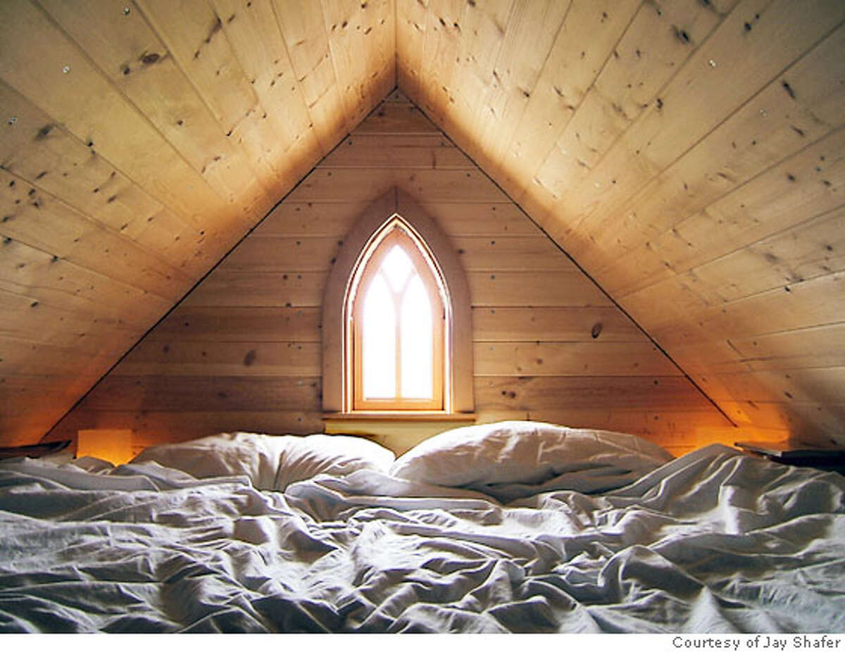 The sleeping loft. Photo courtesy of Jay Shafer