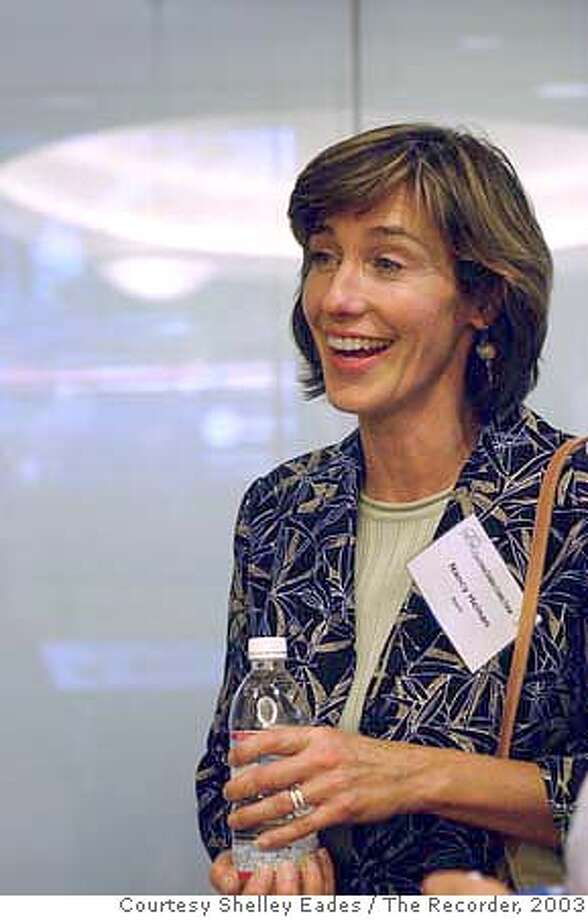 Nancy Heinen, General Counsel of Apple. Credit: Courtesy Shelley Eades / The Recorder  Photo taken in 2003  7-14-03  016-2003 Photo: Shelley Eades