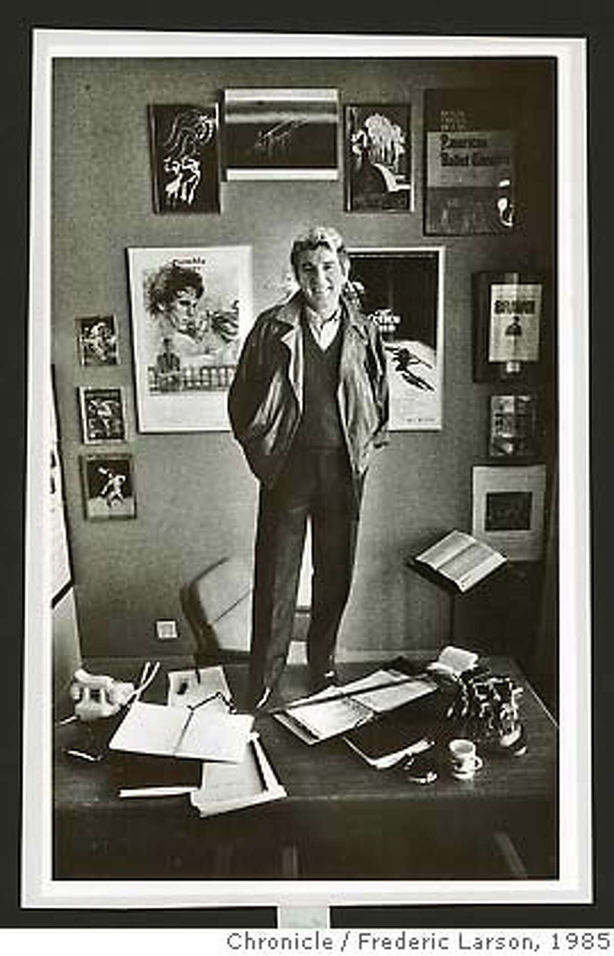 Michael Smuin, 1985 photo. FREDERIC LARSON/THE CHRONICLE 1985