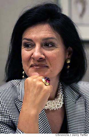 FIVE QUESTIONS FOR: Paloma Picasso / X marks the spot: 25 years with Tiffany