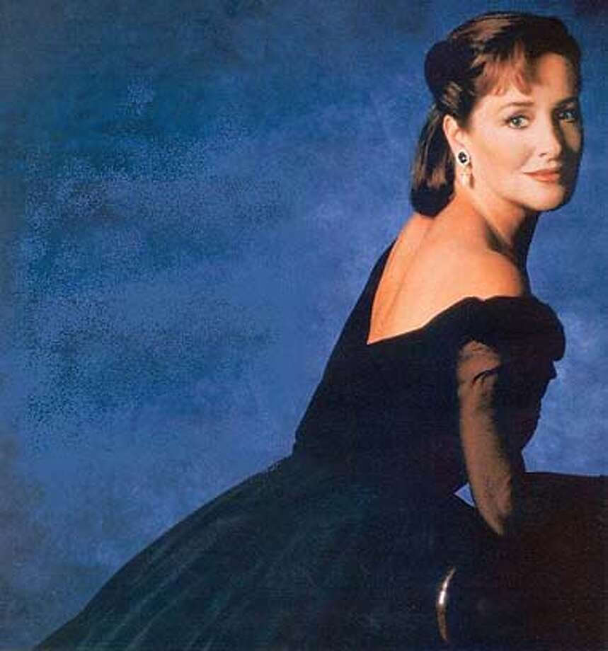 Publicity photo of mezzo-soprano Frederica von Stade for use as backup art for Kosman story.
