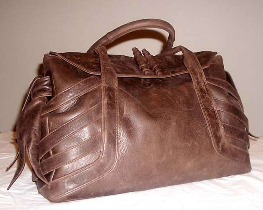 Vanguard satchel by Kameisha Lindo Photo: HANDOUT