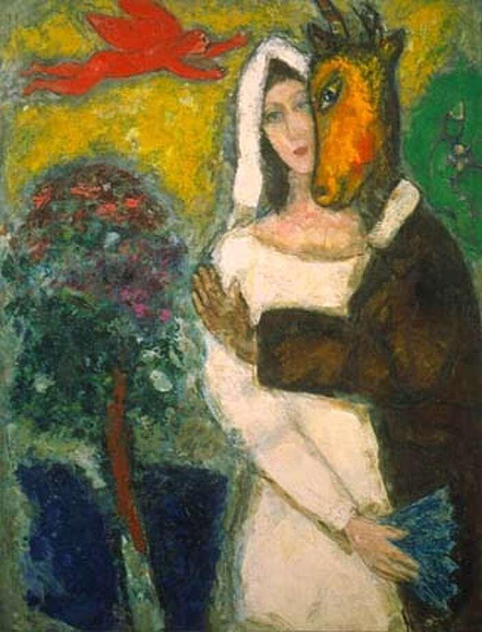 7/25/03 | Color | Advance | 20p wide | D10 | Datebook | mz / 6274 | CROWD25_Chagall