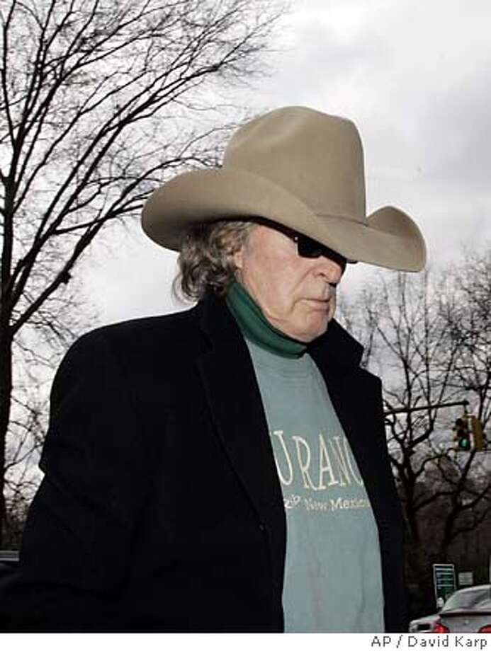 Radio host Don Imus arrives at his Manhattan residence Friday, April 13, 2007 in New York. Rutgers women's basketball coach C. Vivian Stringer said Friday the team had accepted radio host Don Imus' apology. She said he deserves a chance to move on but hopes the furor his racist and sexist insult caused will be a catalyst for change. (AP Photo/David Karp) Photo: DAVID KARP
