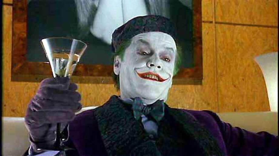 """Still of Jack Nicholson as The Joker in """"Batman."""" Photo: Ho"""