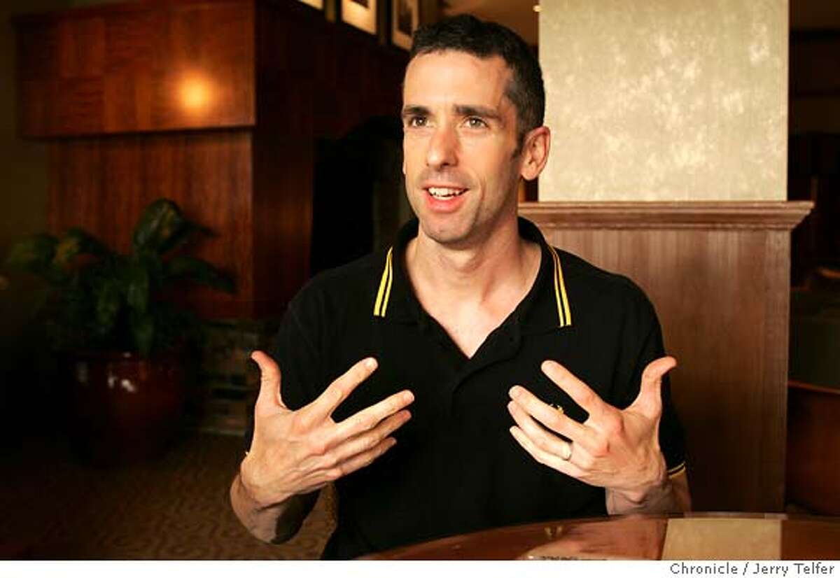 savage11_029_jlt.jpg Author Dan Savage has written a new book - this one about same-sex marriage. Photo by JERRY TELFER / The Chronicle
