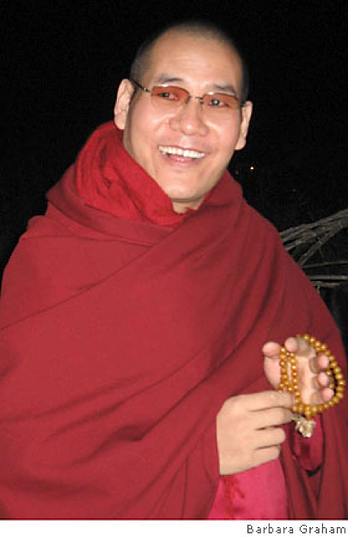 Phagyab Rinpoche. Photo by Barbara Graham