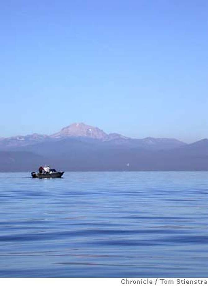 Lake Almanor's azure waters stretch for miles to the foot of Mount Lassen. Photo by Tom Stienstra/The Chronicle Photo: Tom Stienstra/The Chronicle